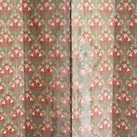 Art Deco French Decorative Paper on Hessian Screen