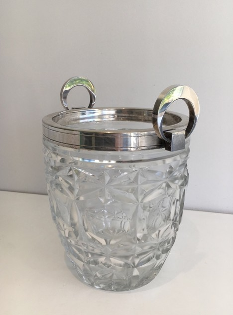 Art Deco glass & silver plated champagne bucket-sylvain-barrois-antiques-AD-868_main_636262035502408134.jpg