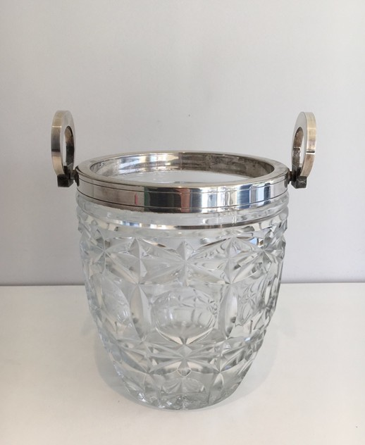 Art Deco glass & silver plated champagne bucket-sylvain-barrois-antiques-AD-869_main_636262035642815334.jpg