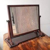 Large dressing mirror attributed to Gillow's