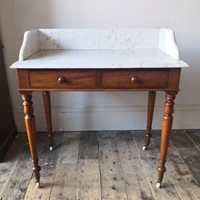 Heal and Son marble washstand