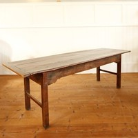 18th Century Welsh oak dining table 2.4m