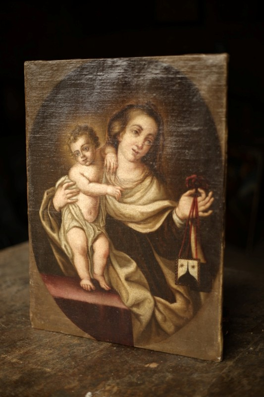 18th C oil on canvas painting of Mary with child-tallboy-interiors-thumb_OJ1A7070_1024-main-636677748214285936.jpg
