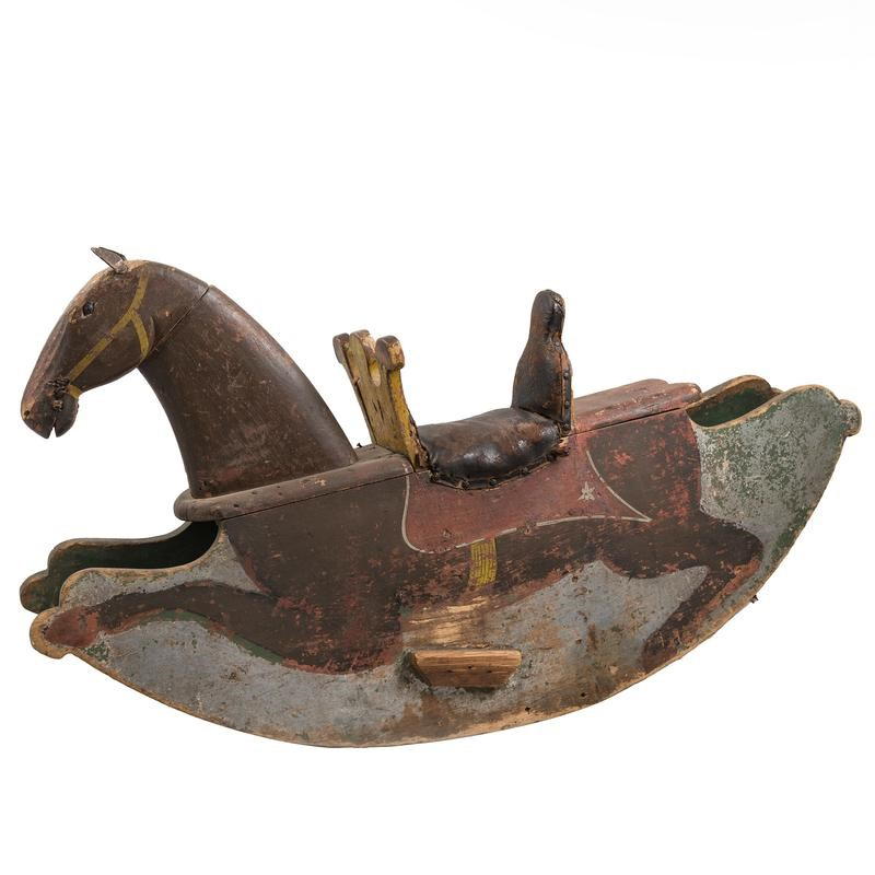 Antique Pine Childrens' Rocking Horse Toy-the-architectural-forum-b41i8973-800x-main-636808323548017082.jpg
