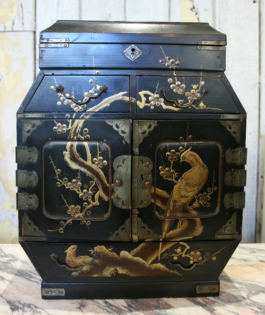 Antique Lacquered Chinoiserie Miniature Cabinet-the-architectural-forum-cabinet2 3_main.jpg