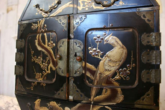 Antique Lacquered Chinoiserie Miniature Cabinet-the-architectural-forum-cabinet2 4_main.jpg