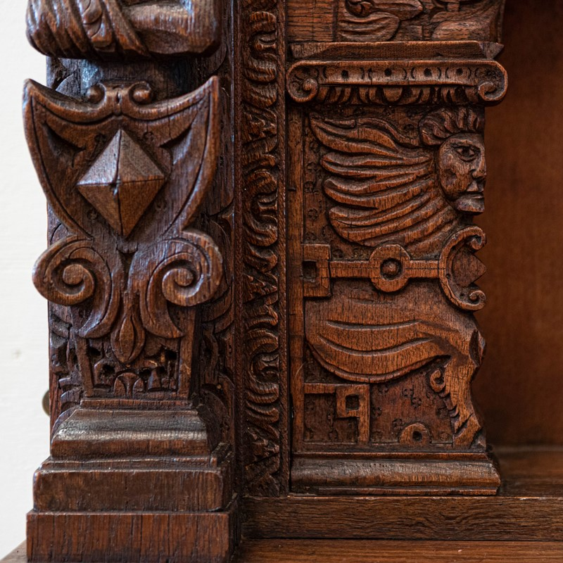 Antique carved oak jacobean style wooden element-the-architectural-forum-carved-oak-overmantle-uglies-gargoyles-3-main-637361125300894606.jpg