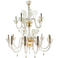 Beby italy murano glass chandelier