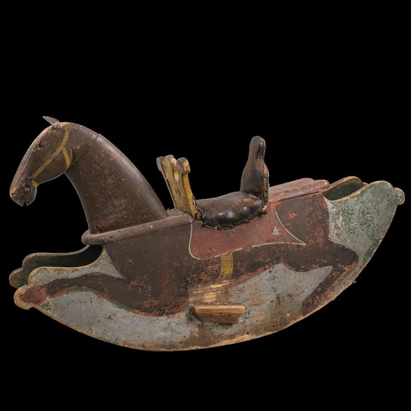 Antique Pine Childrens' Rocking Horse Toy-the-architectural-forum-rocking-horse-antique-800x-main-636808323781297305.jpg