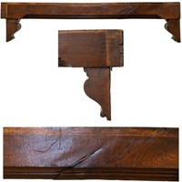 Antique oak decorative beam