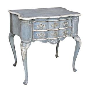 Dutch 19th Century Painted Lowboy Side Table