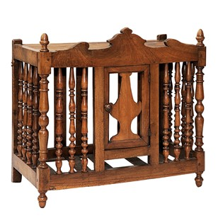 French Mid 19th Century Walnut Panetiere