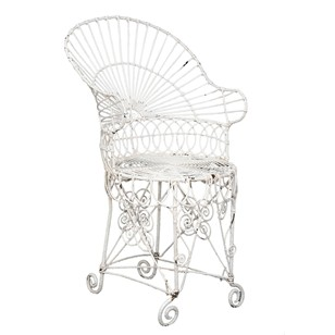 English Regency Conservatory/Garden Chair