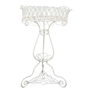 English Victorian Wire Work Conservatory Planter