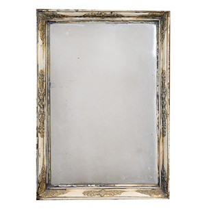 A Napoleonic Empire Period Painted Mirror