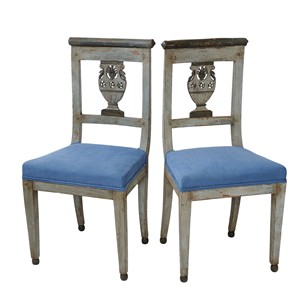 French Napoleonic Directoire/Empire Side Chairs