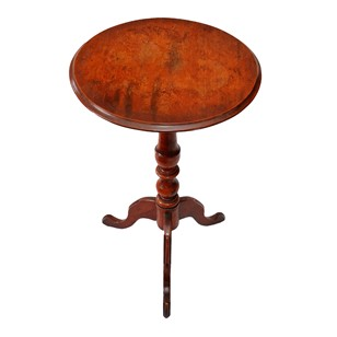 Small Welsh Tilt-Top Tripod Wine/Lamp Table