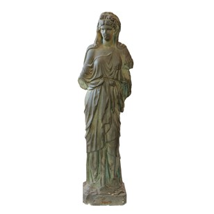 French 19th Century Classical Greek Female Figure