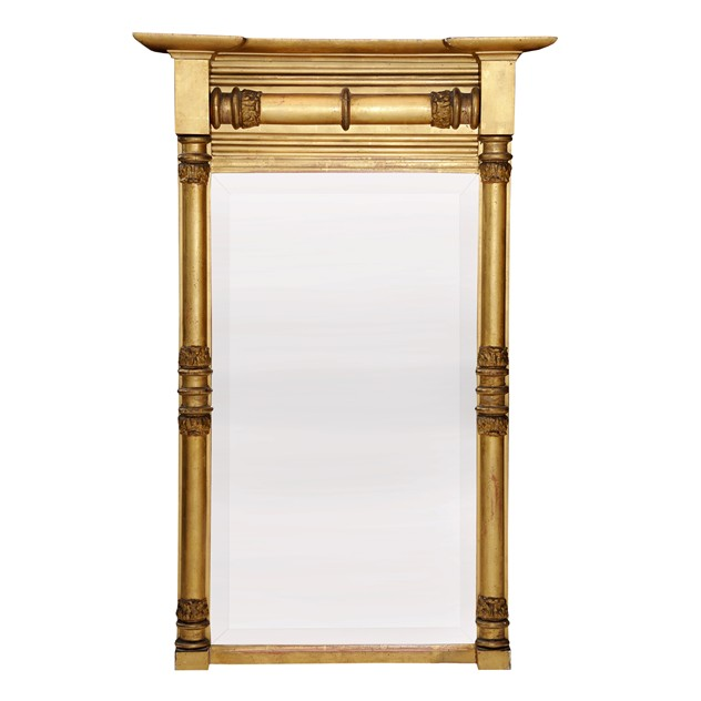 English 19th C. Regency Gilt Pier Glass Mirror -the-decorator-source-Late regency gilt pier glass mirror_main_636063427828717273.jpg