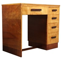 Art Deco Desk in Sycamore c1930