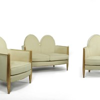 Art Deco Gilt-wood Salon Suite c1925