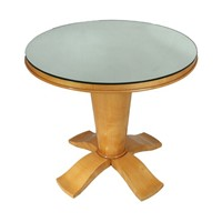 Art Deco Table with Mirrored top c1940