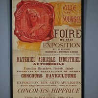 Original French Canvas Fair Advertising