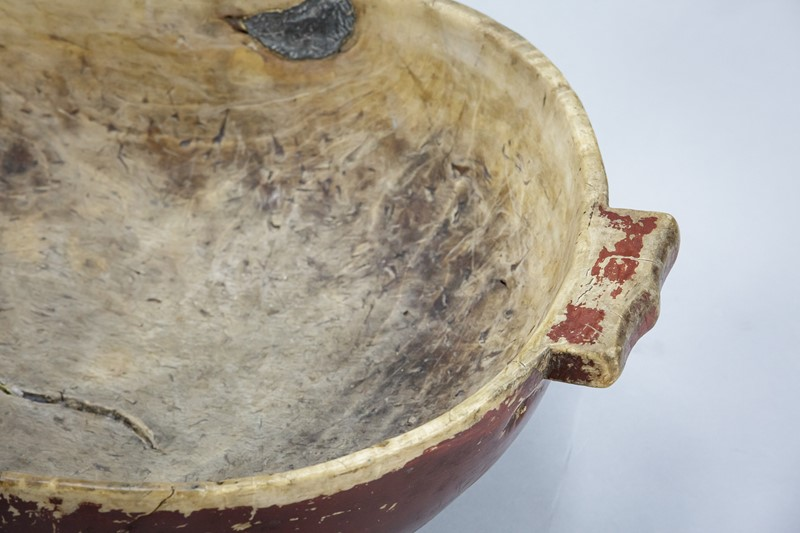 Large Swedish Dugout Root or Knot Bowl Dated 1811-the-home-bothy-large-red-root-bowl-2238-5-main-637368877568100224.jpg