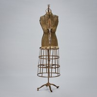 Sculptural Early 20th C Dressmakers Mannequin
