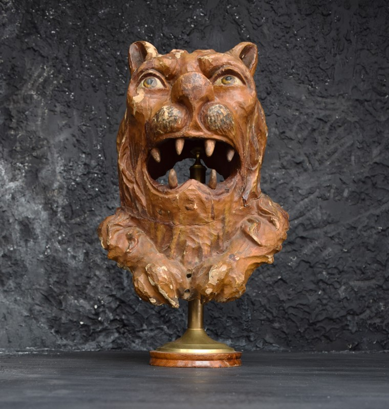 1880 Hand Carved Folk Art Lions Head-the-house-of-antiques-dsc-0308-main-636887912480497730.jpg