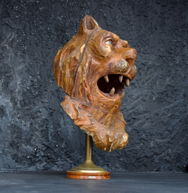 1880 Hand Carved Folk Art Lions Head-the-house-of-antiques-dsc-0309-main-636887913552891400.jpg