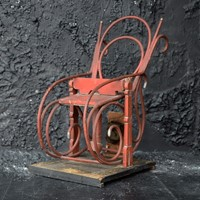 Clockwork Bentwood Rocking Chair