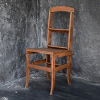 Oak Metamorphic Chair c.1920