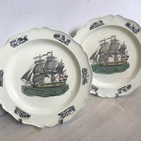 Pair of Nautical Plates