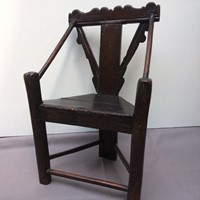 Early English Country Chair