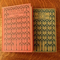 Two books with Talwin Morris, Glasgow style covers