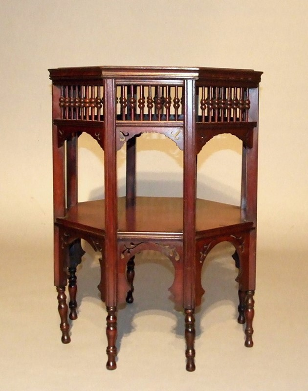 Mahogany two-tier Moorish table attr Liberty-the-millinery-works-s4602-main-636898207504400184.JPG