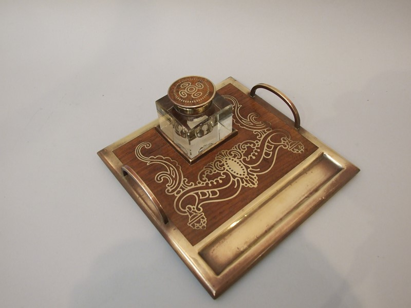 A Jugenstil brass mounted rosewood inkstand-the-millinery-works-s4704-3-main-636890344451882333.JPG