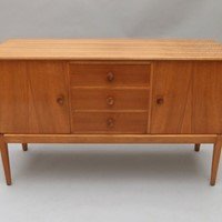 A walnut sideboard  Russell's of Broadway