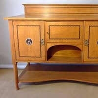 Arts & Crafts sideboard attrib Baillie Scott
