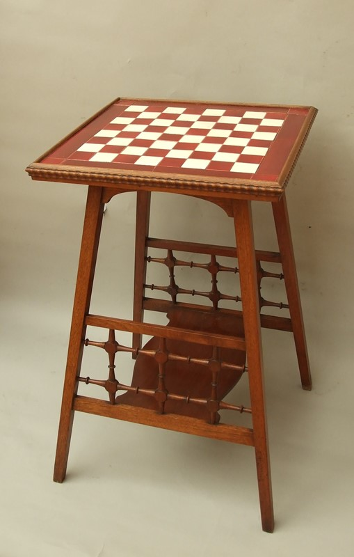 A walnut tiled -top games table-the-millinery-works-s6850-1-main-636900665017378303.JPG