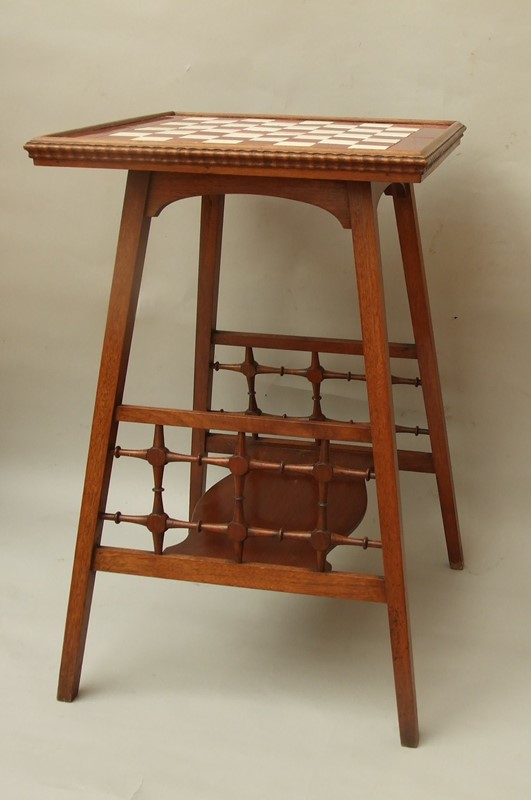A walnut tiled -top games table-the-millinery-works-s6850-3-main-636900665340373906.JPG