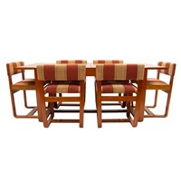 British Midcentury Dining Set by Uniflex c.1960