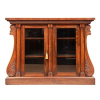 Antique Regency Bookcase in Rio Rosewood
