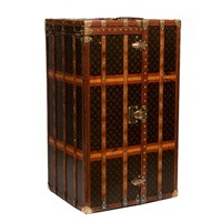 Vintage Louis Vuitton Malle Armoire Trunk c.1910