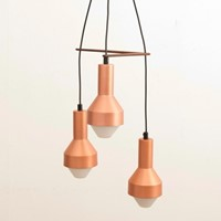 Midcentury Copper Pendant Light by Tapio Wirkkala
