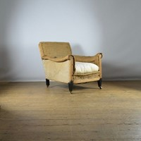Deep seated english library chair - full reup. Inc