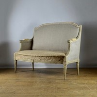 19th Century French Painted Sofa