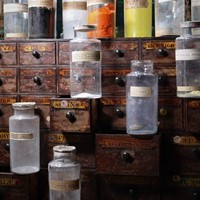Twelve, Apothecary Dry Dispensing Jars