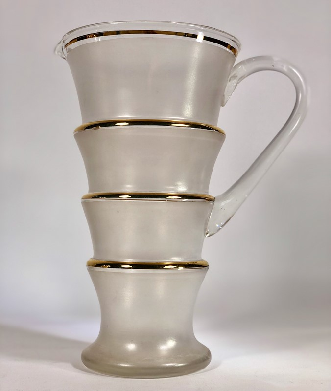 Opaque and gold ringed cocktail jug-the-vintage-entertainer-06c26b24-fef3-4369-9108-c8e844a163c5-main-636868133031896472.jpeg